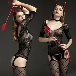 Rimes Sexy Body Stocking RM001