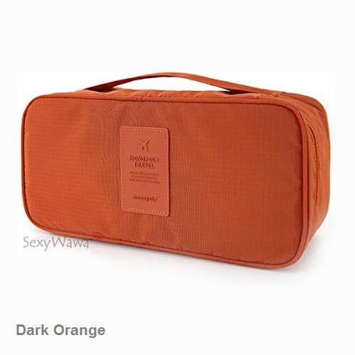Travel Bra & Underwear Pouch Organizer Storage Bag BA001OR
