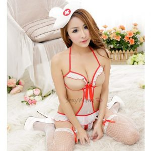 Sexy Teddy Nurse Suit NS012