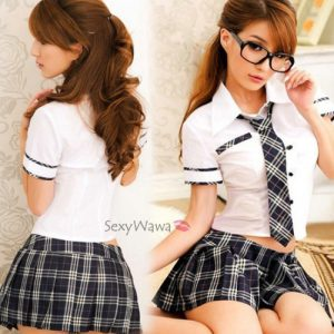 Sexy Student Uniform Costumes SD015