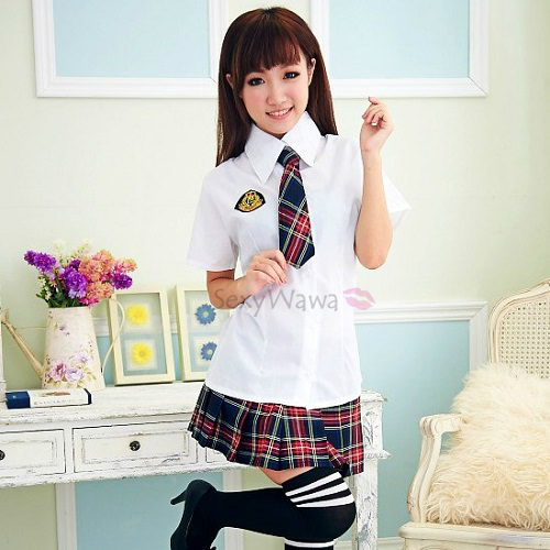 Sexy Student Uniform Costumes SD017