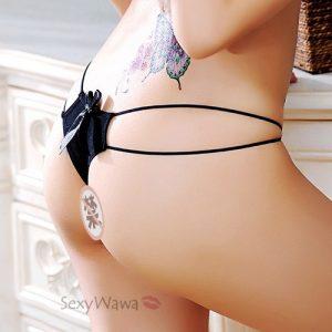 Sexy Panties Thong TB049BK