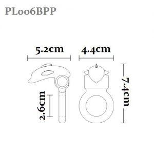 PL006BPP Cock Ring