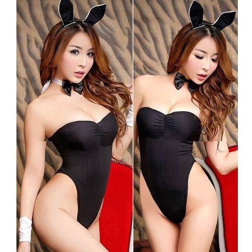 Sexy Bunny Rabbit Costume AN015BK