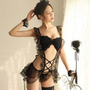 Temptation Sexy Maid Service MD013BK