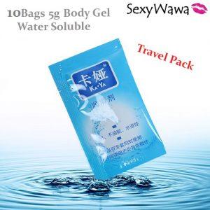 Kaya 5g Water Soluble Body Gel Travel Pack x 10Bags KY00105ML-0