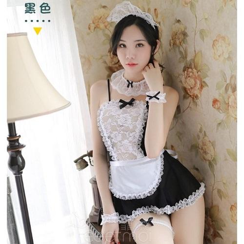 Temptation Sexy Maid Service MD015BK