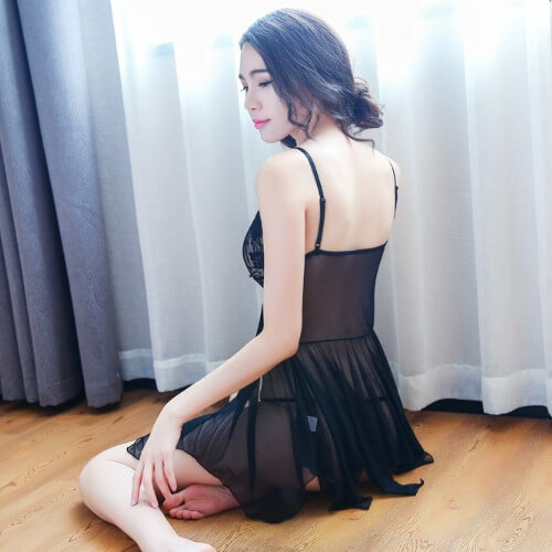 Sexy Babydoll BD016BK