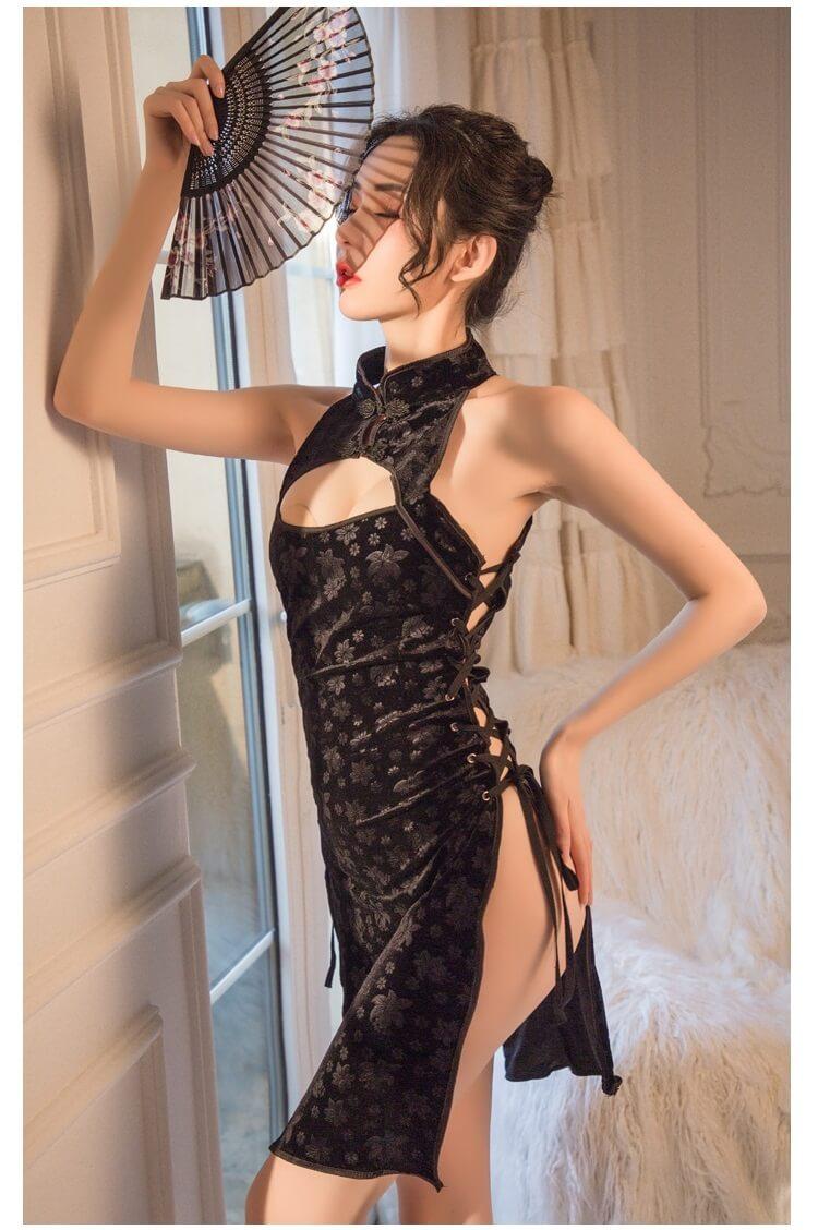 Sexy Cheongsam CH016BK