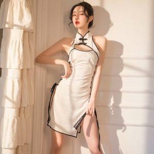 Sexy Cheongsam CH016WH
