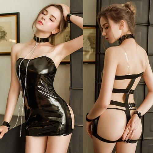 Sexy Bondage Temptation SM Clothes SM009